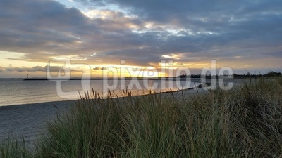Sonnenuntergang an der Ostsee (Fehmarn)