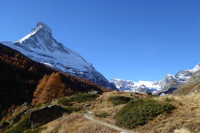 Matterhorn-Nordseite mit Zmuttgrat