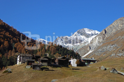 Zmutt oberhalb Zermatt