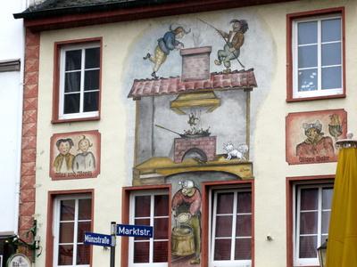 Kunst an der Fassade