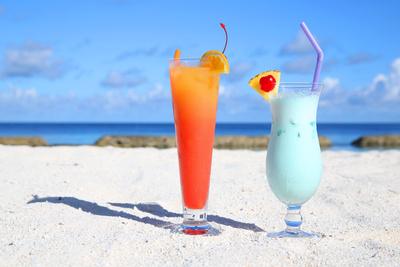 Erfrischung am Strand