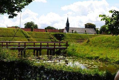 Wassergraben der Festung Bourtange