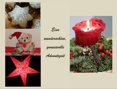 Genussvolle Adventszeit