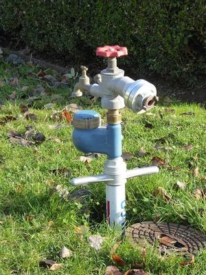 Hydrant im Schlosspark