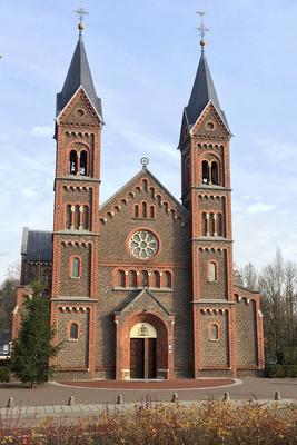 Die Kirche von Lemiers