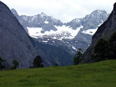 Hoch oben-In der Eng-Karwendelgebiet