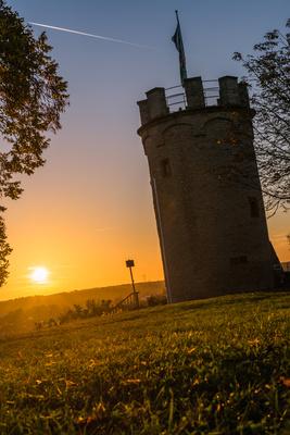 Sonnenuntergang in Weingarten(Baden)