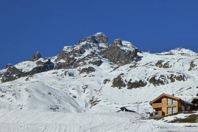 Winterliches Tennbachhorn