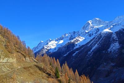 Lötschentaler Höhenweg vor Wintereinbruch
