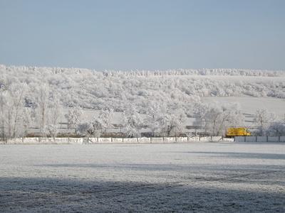 Winterlandschaft in Thüringen