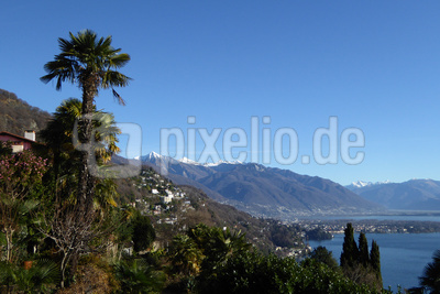Dezember-Wetter am Lago Maggiore