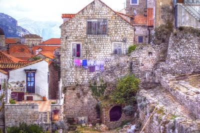 Hausansichten in Dubrovnik
