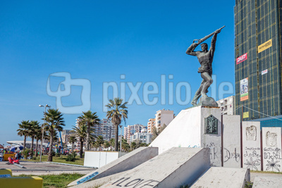 Denkmal der Partisanen in Durres