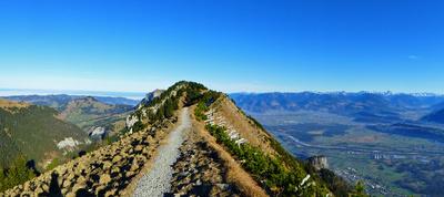 Bergweg auf dem Stauberengrat