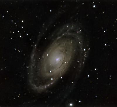 M81 LRGB mit Supernova