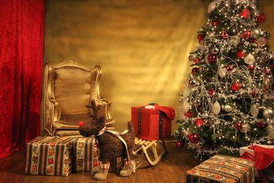 Hintergrund zur Erstellung einer Weihnachtskarte