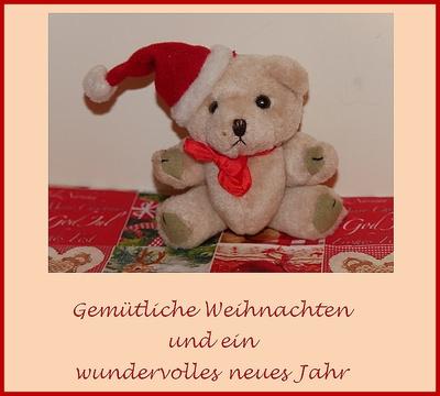 Weihnachts-/Neujahrswunsch