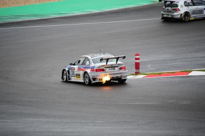 BWM Feuer VLN Nürburgring