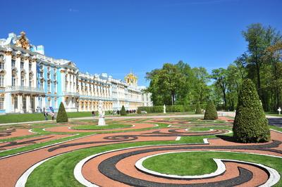 Garten Katharinenpalast St. Petersburg