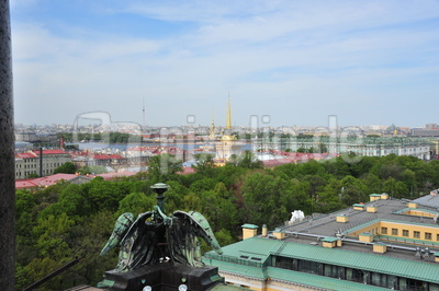 Über den Dächern St. Petersburgs