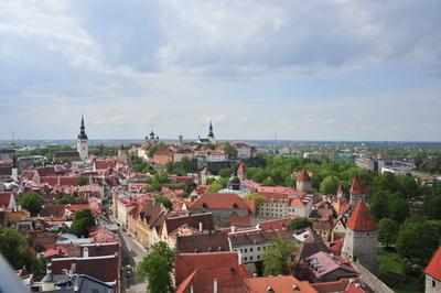 Über den Dächern von Tallinn Estland