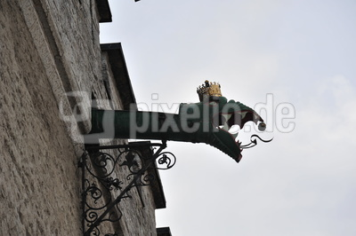 Wasserspeier Drachen in Tallinn