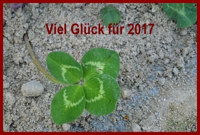 Glück für 2017