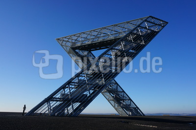 Polygon auf der Halde in Ensdorf (Saar)
