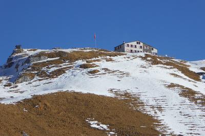 Fast schneefrei zur Rugghubel-Hütte