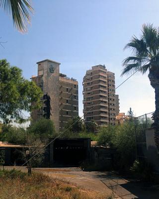 Varosia ist eine Geisterstadt am Stadtrand von Famagusta, Zypern