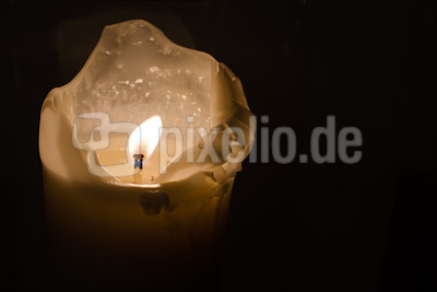 Kerze - sich verzehren