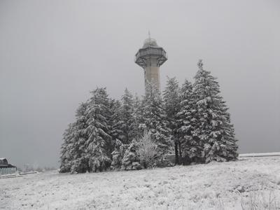 Schneelandschaft  im  Sauerland