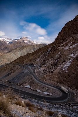 Seidenstrasse Tajikistan.