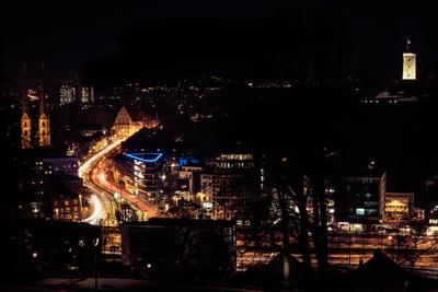 Bielefeld bei Nacht