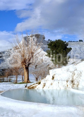 Winter in Pamukkale