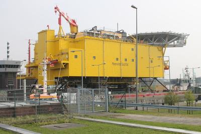 Batterietransport zur Nordsee