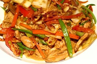 Curry vom Huhn