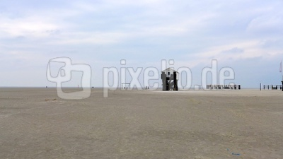 Nordsee bei St. Peter Ording