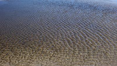 Strukturen des Sandstrandes