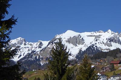 Berge im Oberen Toggenburg