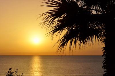 Sonnenuntergang vor Ischia