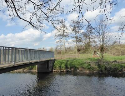 Brücke über die Erft