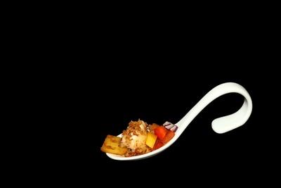 Steinbeißer Panko Ratatuille Kartoffel