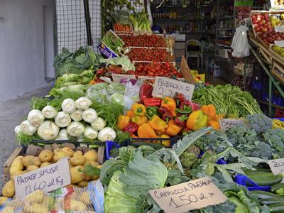 Ischia - Gemüseladen