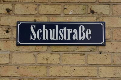 Schulstraße in Wismar