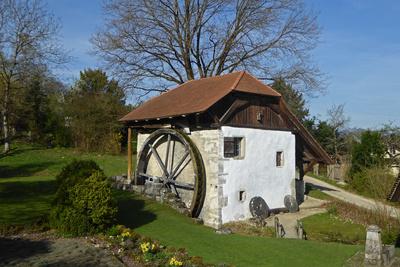 Alte Mühle in Büren an der Aare