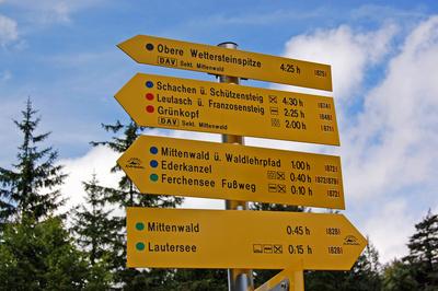 Unterwegs zum Ferchensee - In zehn Minuten sind wir da!