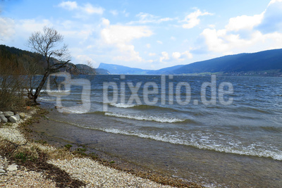 Sturmwarnung am Lac de Joux