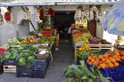 Impresssionen aus Ischia - Obst- und Gemüseladen