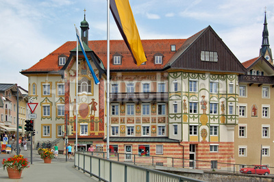 Bad Tölz - Altstadt - Marienstift